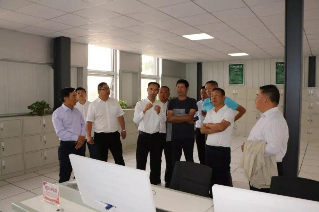 重庆市前交委主任丁纯、商丘工学院院长丁华莅临兰堡湾参观考察
